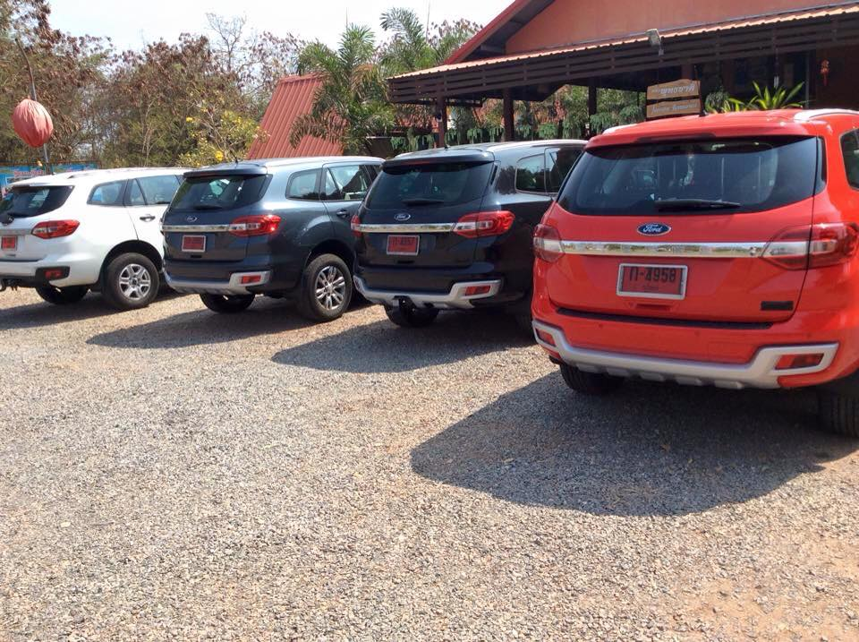 2016 Ford Endeavour Everest Spied In A Range Of Colors Thailand